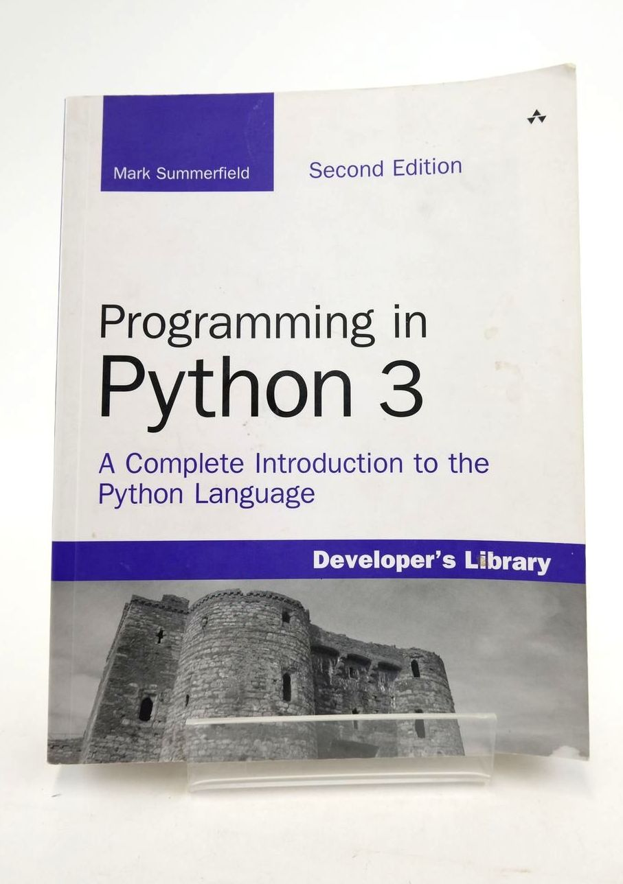 Photo of PROGRAMMING IN PYTHON 3- Stock Number: 1821121