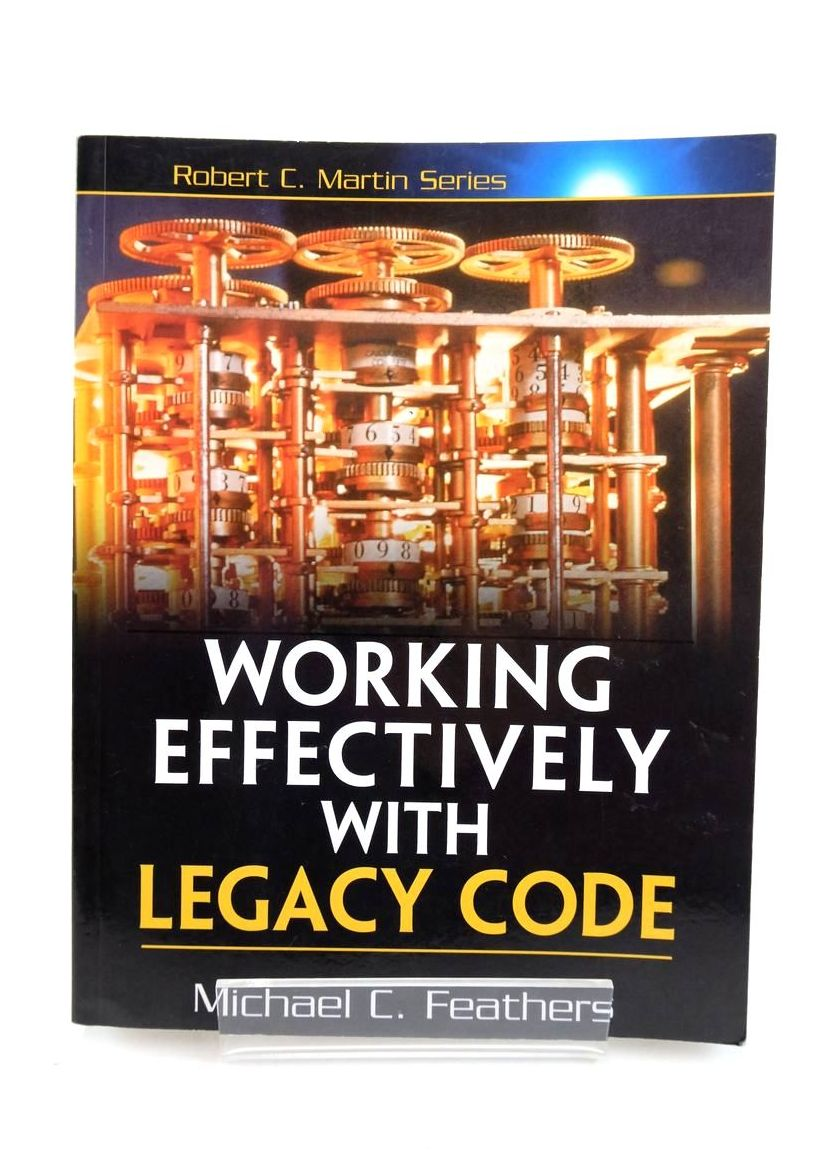 Photo of WORKING EFFECTIVELY WITH LEGACY CODE- Stock Number: 1821122