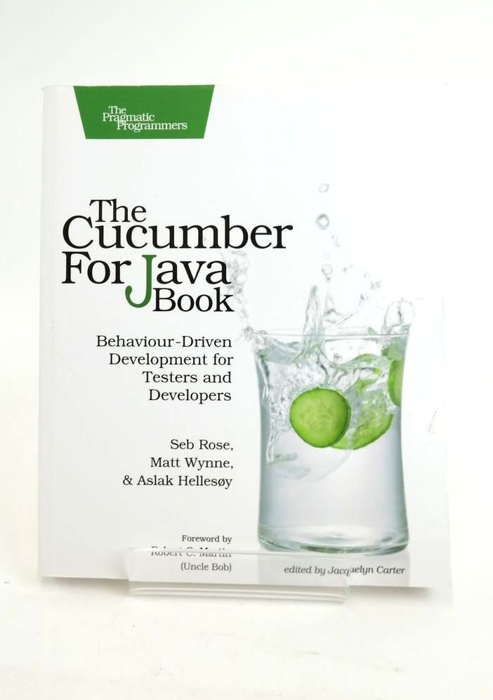 Photo of THE CUCUMBER FOR JAVA BOOK- Stock Number: 1821124