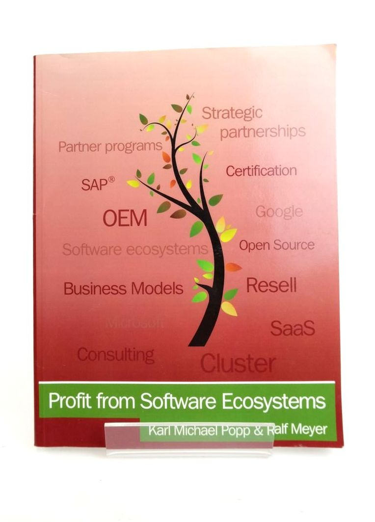 Photo of PROFIT FROM SOFTWARE ECOSYSTEMS- Stock Number: 1821126