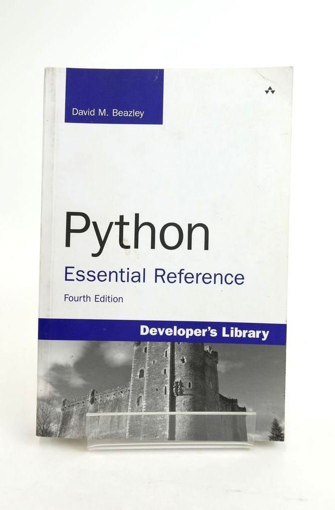 Photo of PYTHON ESSENTIAL REFERENCE- Stock Number: 1821139
