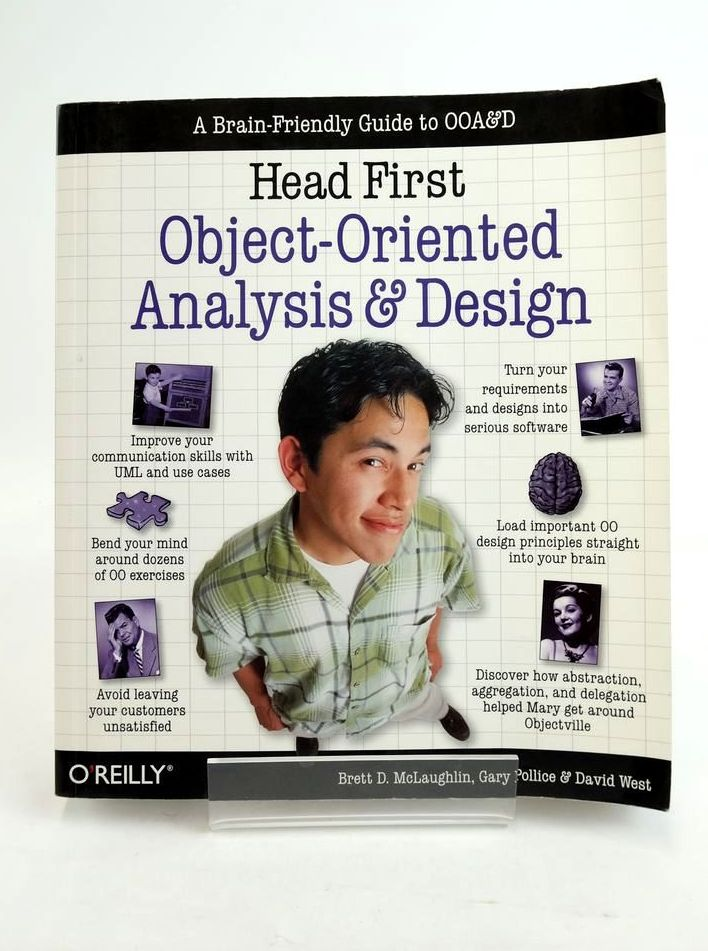 Photo of HEAD FIRST: OBJECT-ORIENTED ANALYSIS AND DESIGN- Stock Number: 1821144