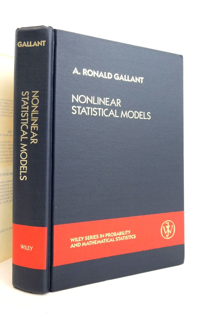 Photo of NONLINEAR STATISTICAL MODELS written by Gallant, A. Ronald published by John Wiley & Sons (STOCK CODE: 1821145)  for sale by Stella & Rose's Books