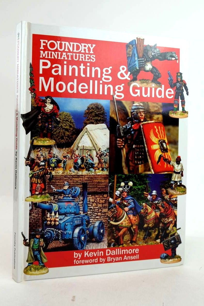Photo of FOUNDRY MINIATURES PAINTING AND MODELLING GUIDE- Stock Number: 1821151