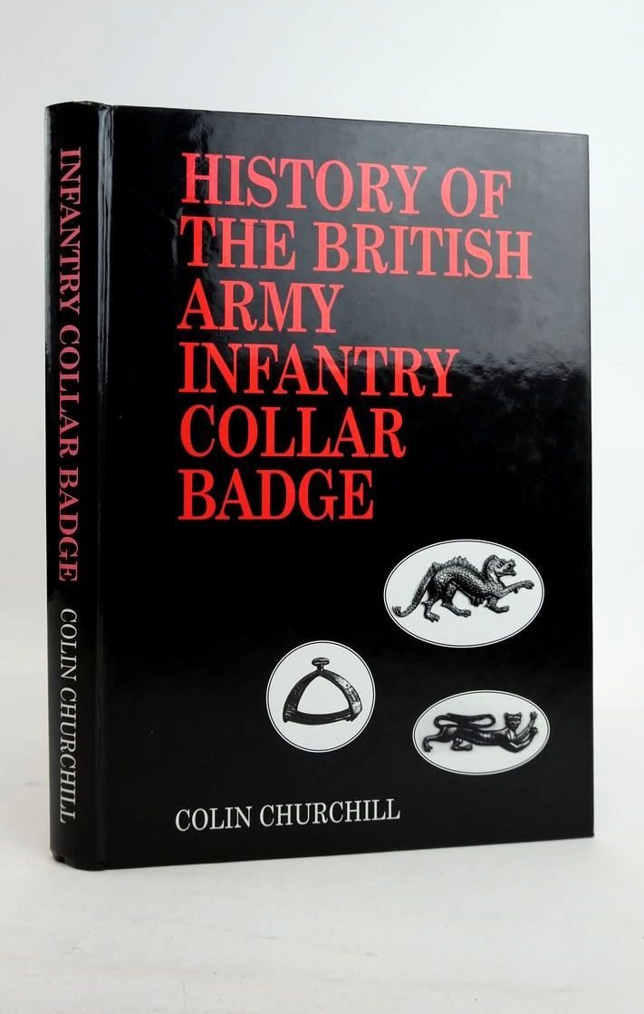 Photo of HISTORY OF THE BRITISH ARMY INFANTRY COLLAR BADGE- Stock Number: 1821175