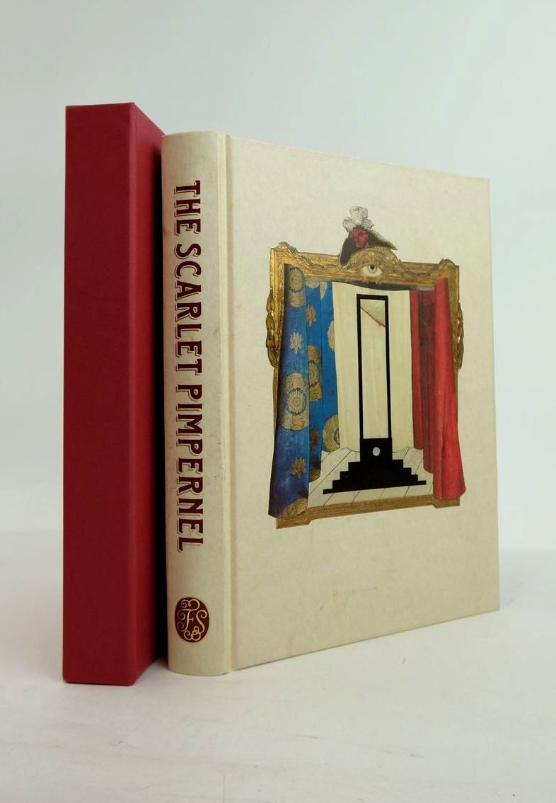 Photo of THE SCARLET PIMPERNEL written by Orczy, Baroness Mantel, Hilary illustrated by Weller, Lucy published by Folio Society (STOCK CODE: 1821184)  for sale by Stella & Rose's Books