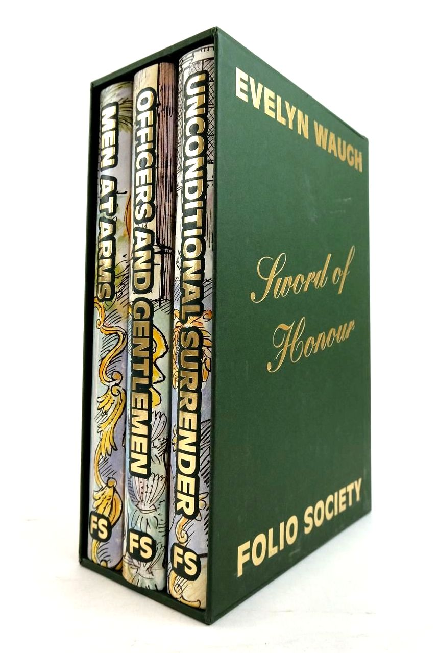 Photo of SWORD OF HONOUR (3 VOLUMES) written by Waugh, Evelyn Amory, Mark illustrated by Lawrence, John published by Folio Society (STOCK CODE: 1821188)  for sale by Stella & Rose's Books
