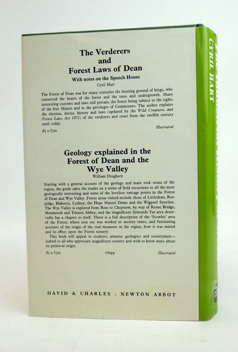 Photo of THE INDUSTRIAL HISTORY OF DEAN: WITH AN INTRODUCTION TO ITS INDUSTRIAL ARCHAEOLOGY written by Hart, Cyril published by David & Charles (STOCK CODE: 1821254)  for sale by Stella & Rose's Books