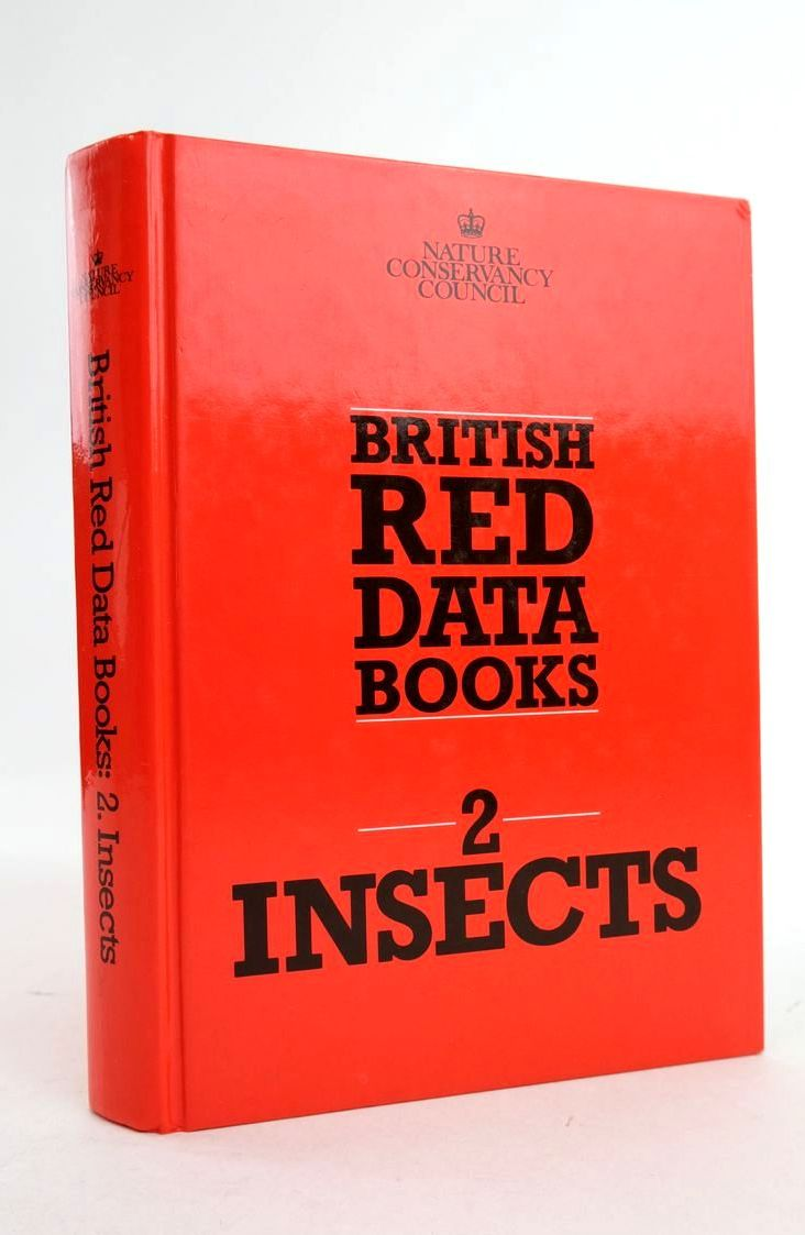 Photo of BRITISH RED DATA: BOOK 2. INSECTS- Stock Number: 1821265