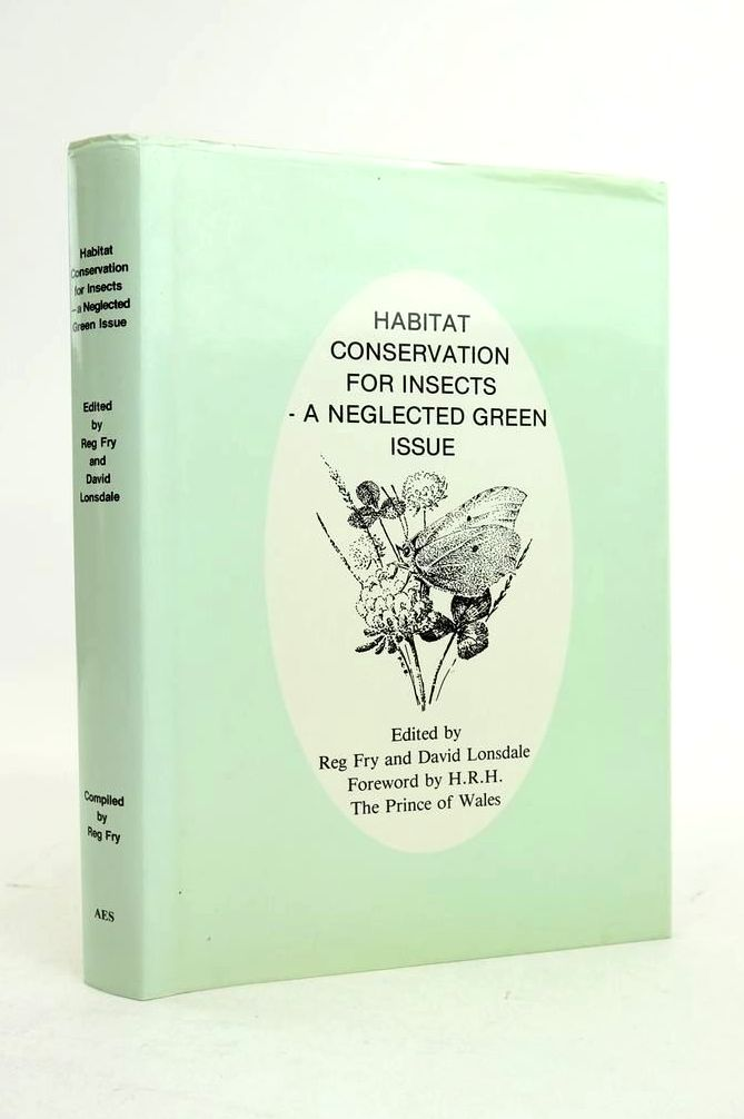 Photo of HABITAT CONSERVATION FOR INSECTS - A NEGLECTED GREEN ISSUE written by Fry, Reg published by Amateur Entomologist's Society (STOCK CODE: 1821267)  for sale by Stella & Rose's Books