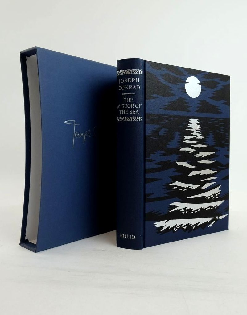 Photo of THE MIRROR OF THE SEA AND A PERSONAL RECORD written by Conrad, Joseph Meyers, Jeffrey illustrated by Mosley, Francis published by Folio Society (STOCK CODE: 1821289)  for sale by Stella & Rose's Books