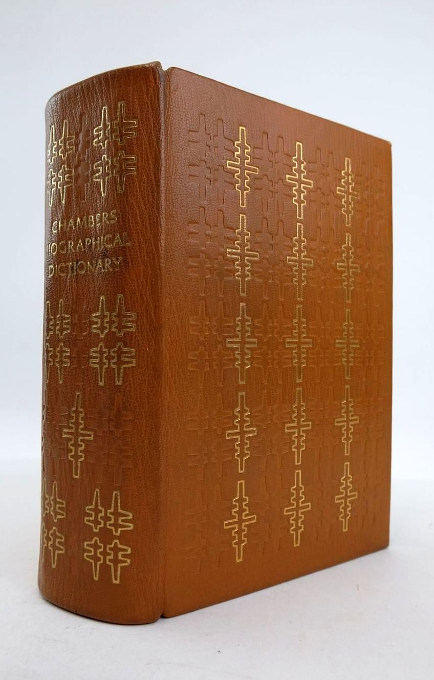 Photo of CHAMBERS BIOGRAPHICAL DICTIONARY written by Thorne, J.O. Collocott, T.C. published by Folio Society, W. & R. Chambers Limited (STOCK CODE: 1821324)  for sale by Stella & Rose's Books