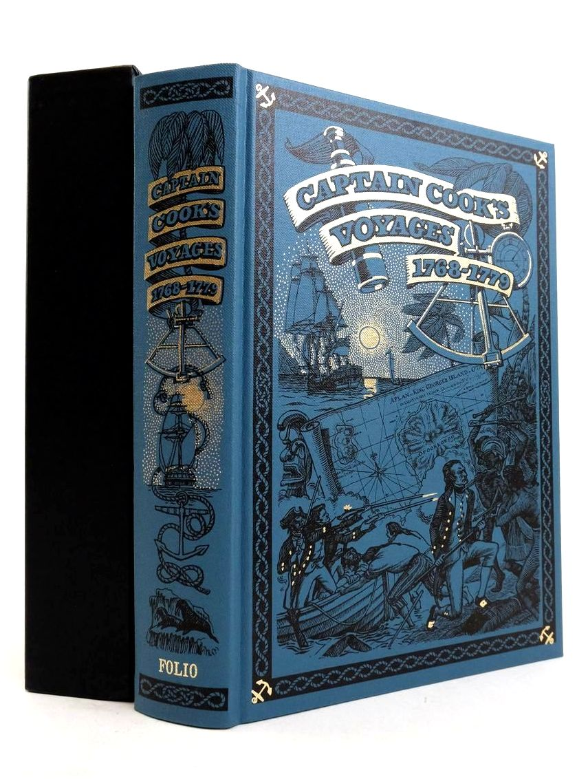 Photo of CAPTAIN COOK'S VOYAGES 1768-1779 written by Cook, Captain Williams, Glyndwr published by Folio Society (STOCK CODE: 1821416)  for sale by Stella & Rose's Books