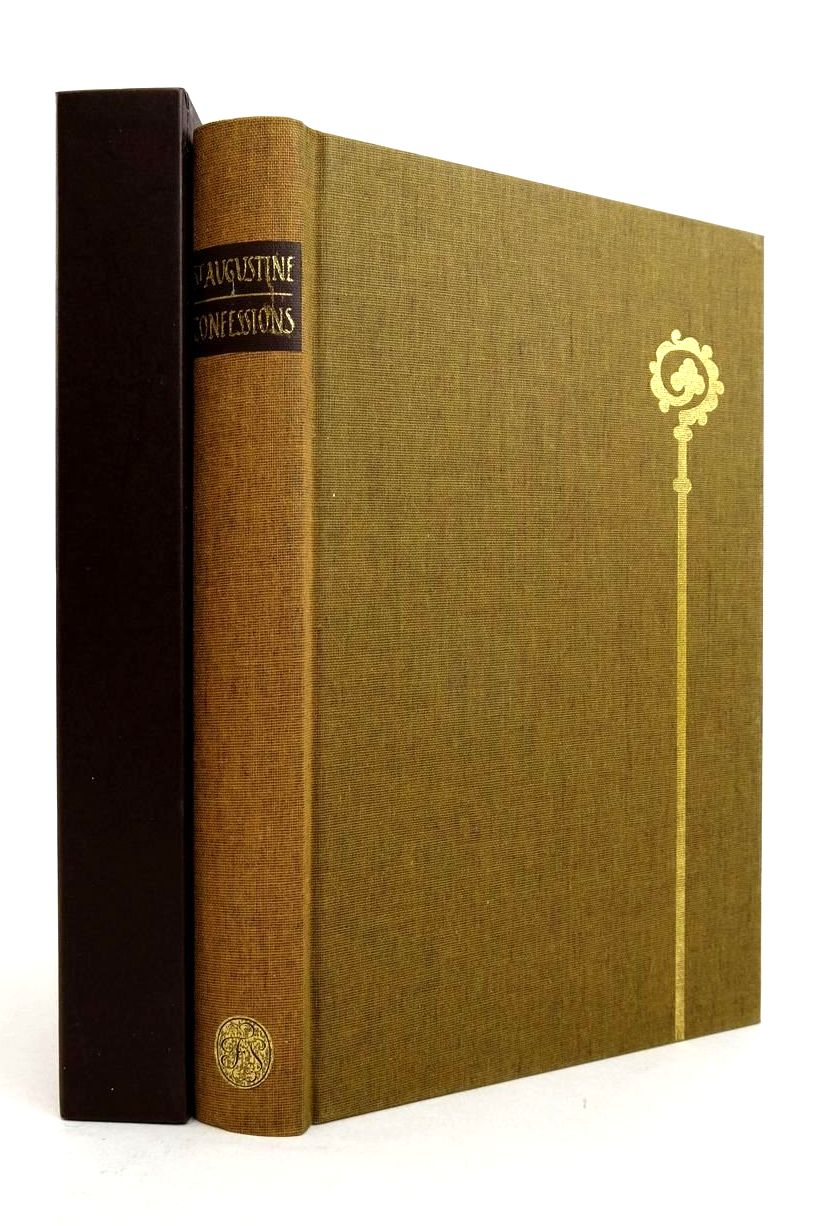 Photo of ST AUGUSTINE BISHOP OF HIPPO CONFESSIONS written by Pilkington, J.G. Williams, Rowan illustrated by Brett, Simon published by Folio Society (STOCK CODE: 1821420)  for sale by Stella & Rose's Books