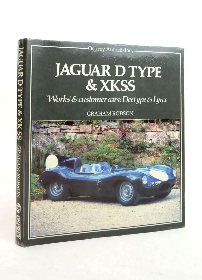 Photo of JAGUAR D TYPE & XKSS (OSPREY AUTOHISTORY) written by Robson, Graham published by Osprey Publishing (STOCK CODE: 1821435)  for sale by Stella & Rose's Books