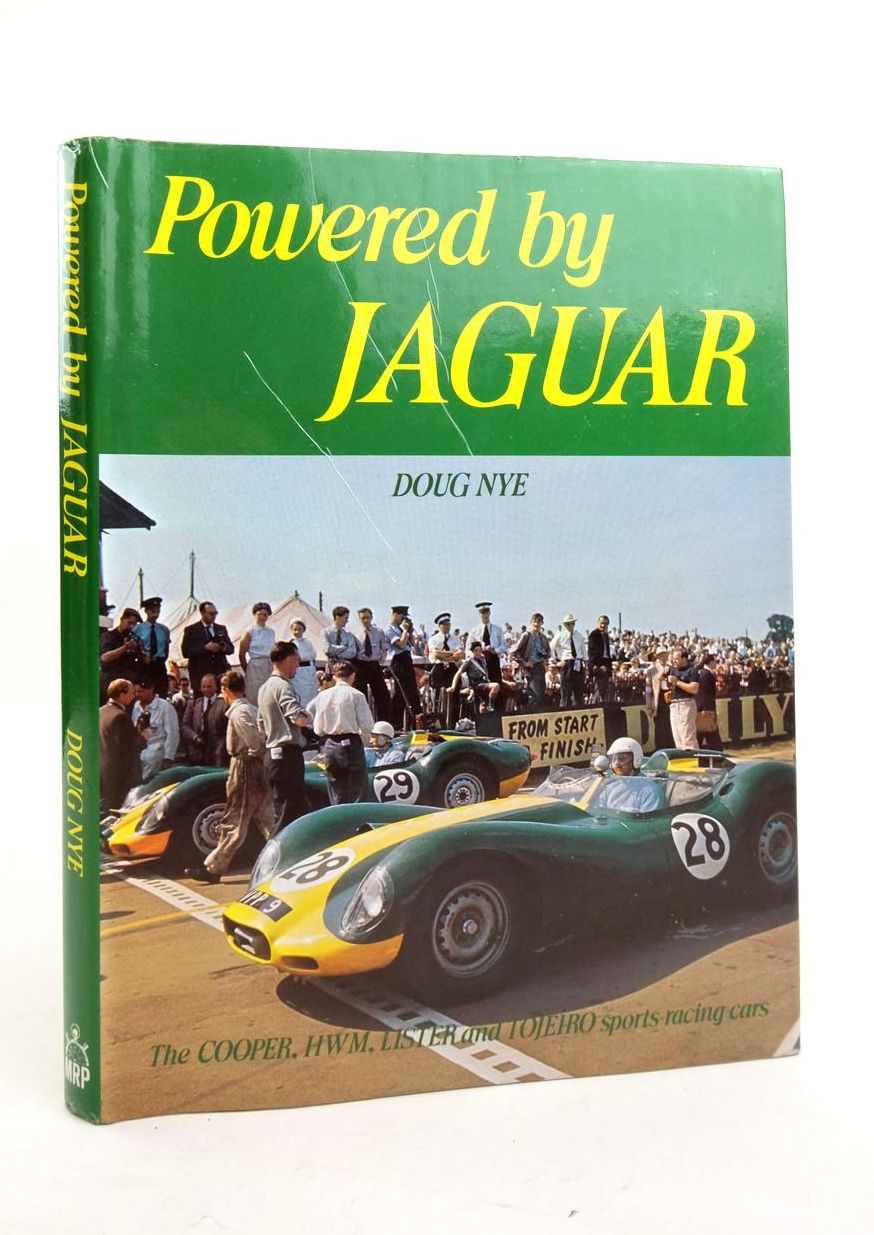Photo of POWERED BY JAGUAR written by Nye, Doug published by Motor Racing Publications Ltd. (STOCK CODE: 1821446)  for sale by Stella & Rose's Books