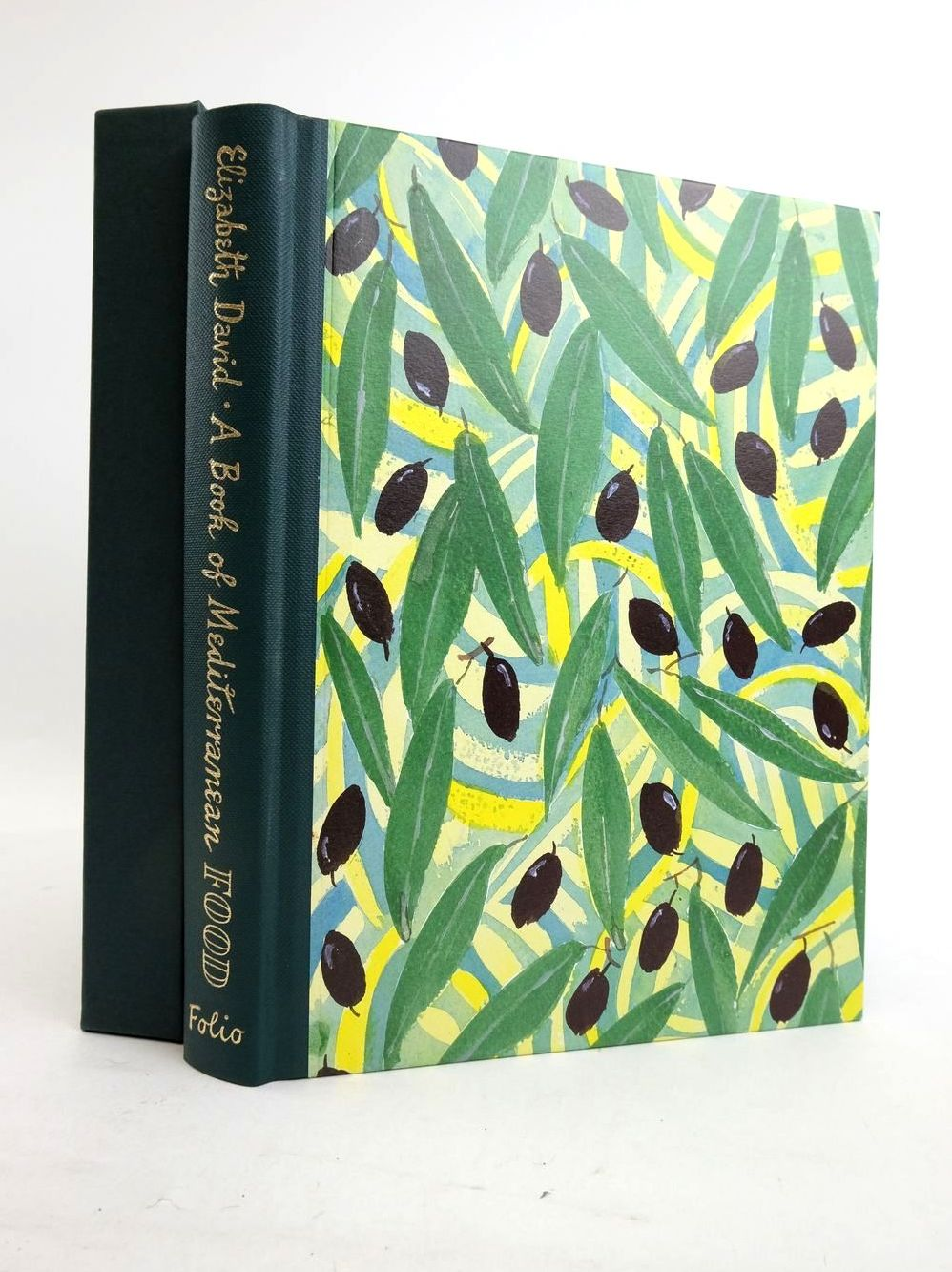 Photo of A BOOK OF MEDITERRANEAN FOOD AND OTHER WRITINGS written by David, Elizabeth Barnes, Julian illustrated by Minton, John Maccarthy, Sophie published by Folio Society (STOCK CODE: 1821457)  for sale by Stella & Rose's Books