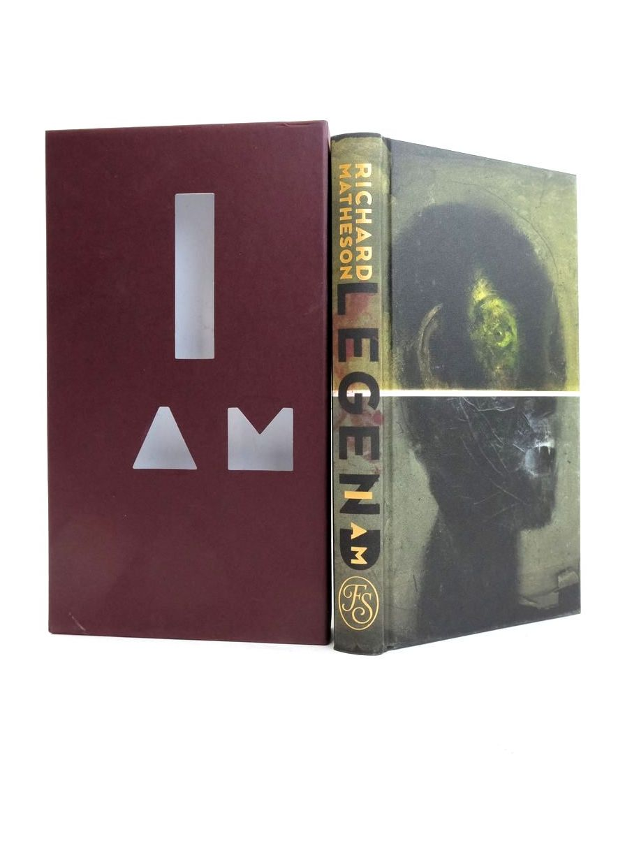 Photo of I AM LEGEND written by Matheson, Richard Hill, Joe illustrated by Mckean, Dave published by Folio Society (STOCK CODE: 1821473)  for sale by Stella & Rose's Books