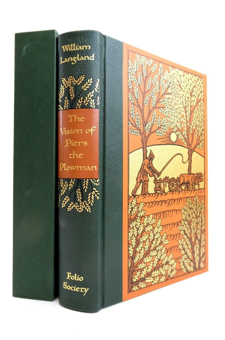 Photo of THE VISION OF PIERS THE PLOWMAN written by Langland, William O'Donoghue, Bernard illustrated by Brockway, Harry published by Folio Society (STOCK CODE: 1821483)  for sale by Stella & Rose's Books