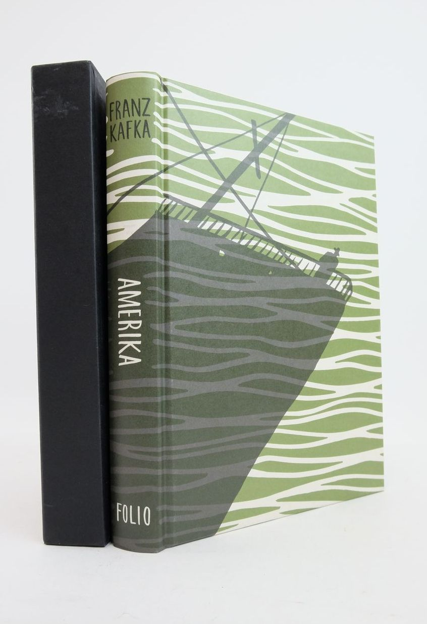 Photo of AMERIKA (THE MAN WHO DISAPPEARED) written by Kafka, Franz Lasdun, James illustrated by Bragg, Bill published by Folio Society (STOCK CODE: 1821516)  for sale by Stella & Rose's Books