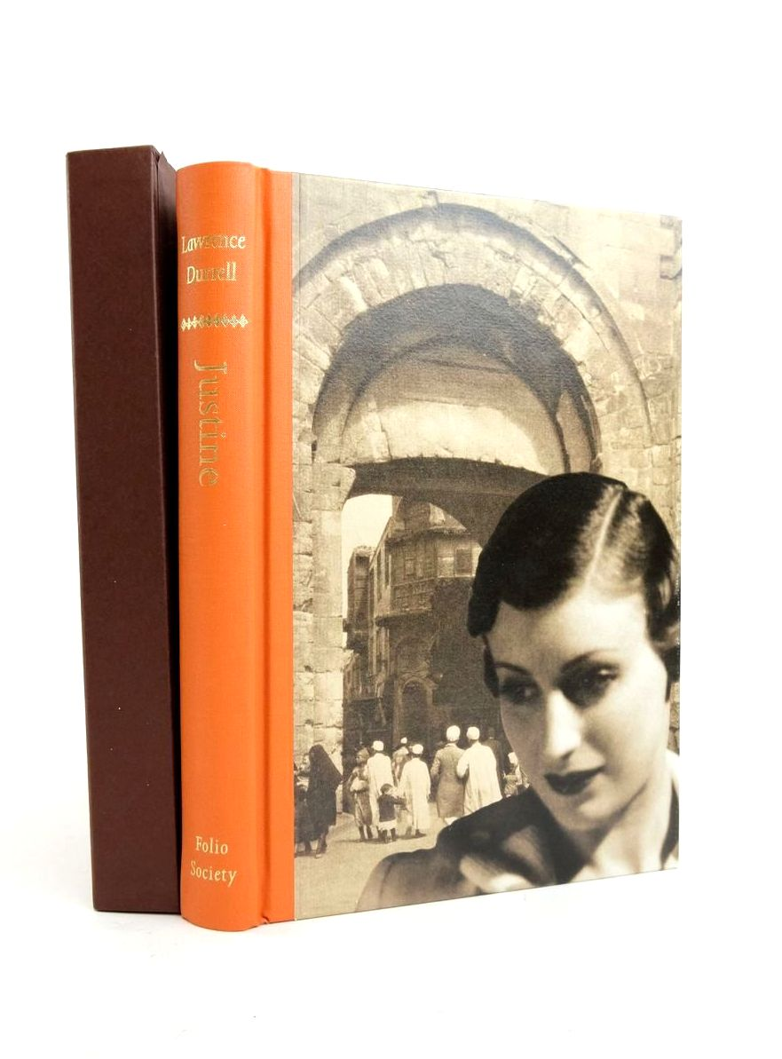 Photo of JUSTINE written by Durrell, Lawrence published by Folio Society (STOCK CODE: 1821534)  for sale by Stella & Rose's Books