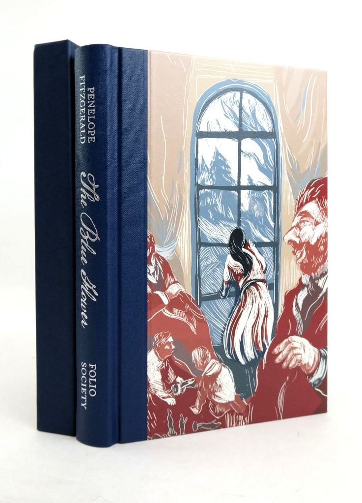 Photo of THE BLUE FLOWER written by Fitzgerald, Penelope Mukherjee, Neel illustrated by Albon, James published by Folio Society (STOCK CODE: 1821540)  for sale by Stella & Rose's Books