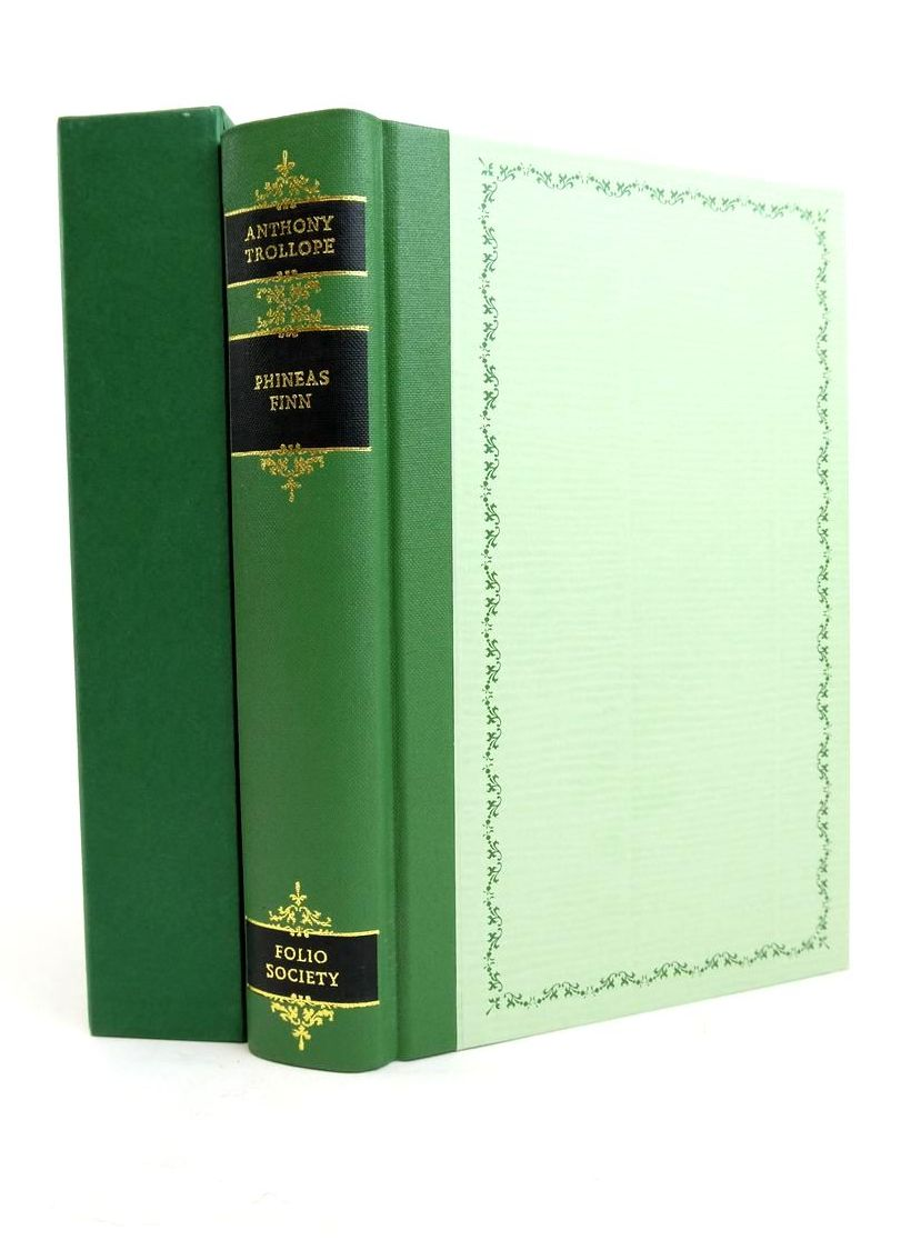 Photo of PHINEAS FINN: THE IRISH MEMBER written by Trollope, Anthony Powell, J. Enoch illustrated by Thomas, Llewellyn published by Folio Society (STOCK CODE: 1821545)  for sale by Stella & Rose's Books