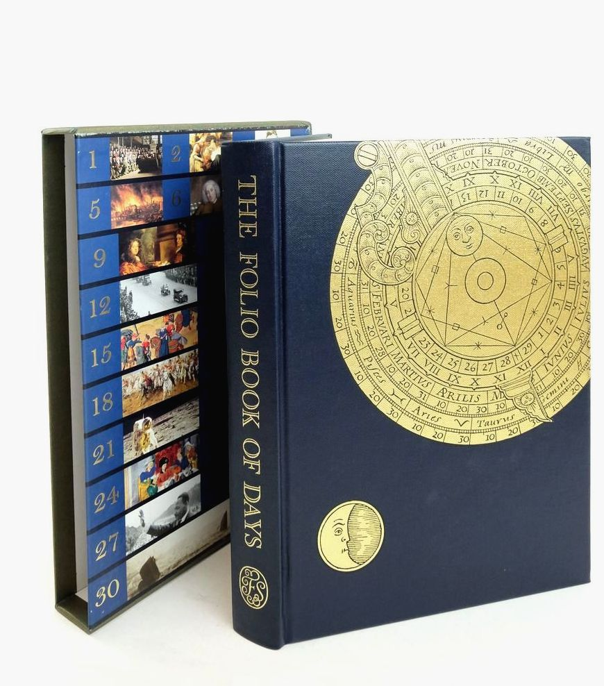 Photo of THE FOLIO BOOK OF DAYS- Stock Number: 1821555