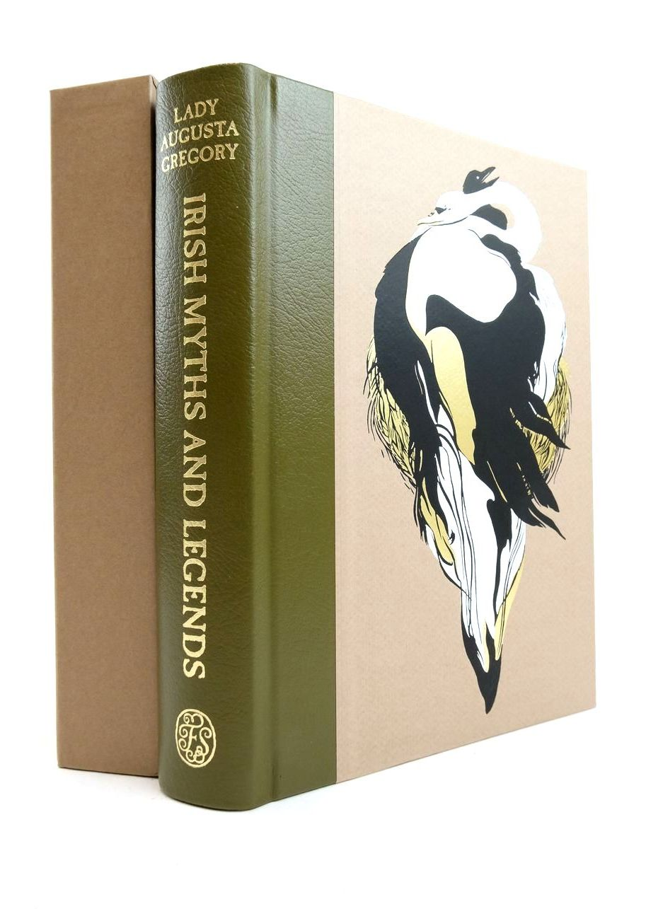 Photo of IRISH MYTHS AND LEGENDS written by Gregory, Augusta Yeats, W.B. Toibin, Colm illustrated by Tamaki, Jillian published by Folio Society (STOCK CODE: 1821563)  for sale by Stella & Rose's Books