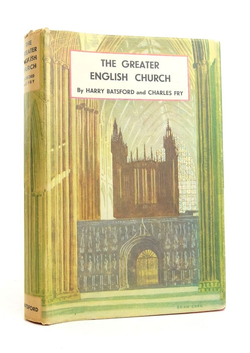 Photo of THE GREATER ENGLISH CHURCH written by Batsford, Harry Fry, Charles published by B.T. Batsford (STOCK CODE: 1821621)  for sale by Stella & Rose's Books