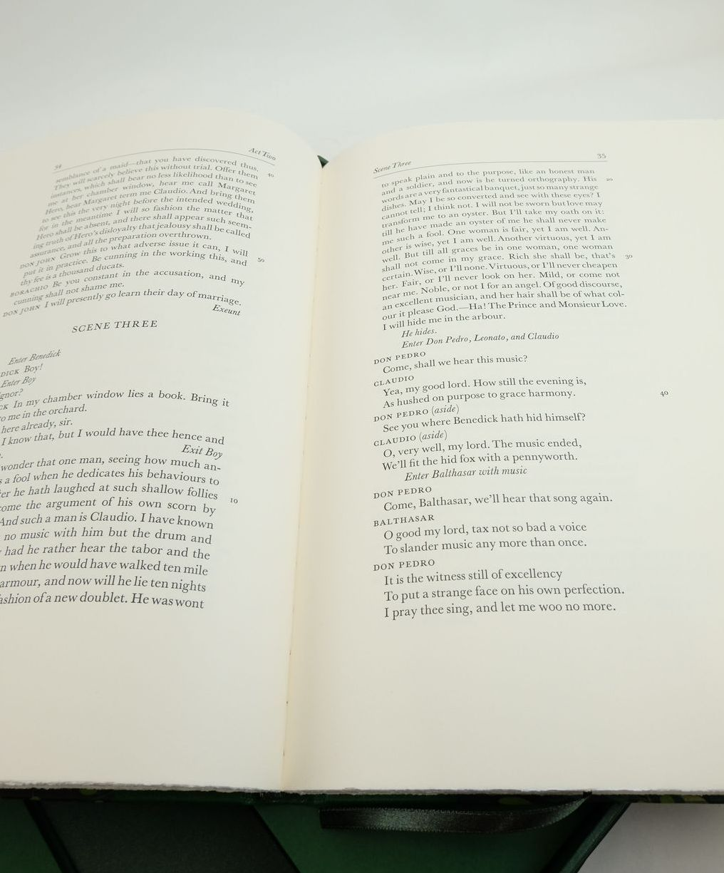 Photo of MUCH ADO ABOUT NOTHING (THE LETTERPRESS SHAKESPEARE) written by Shakespeare, William Zitner, Sheldon P. published by Folio Society (STOCK CODE: 1821630)  for sale by Stella & Rose's Books