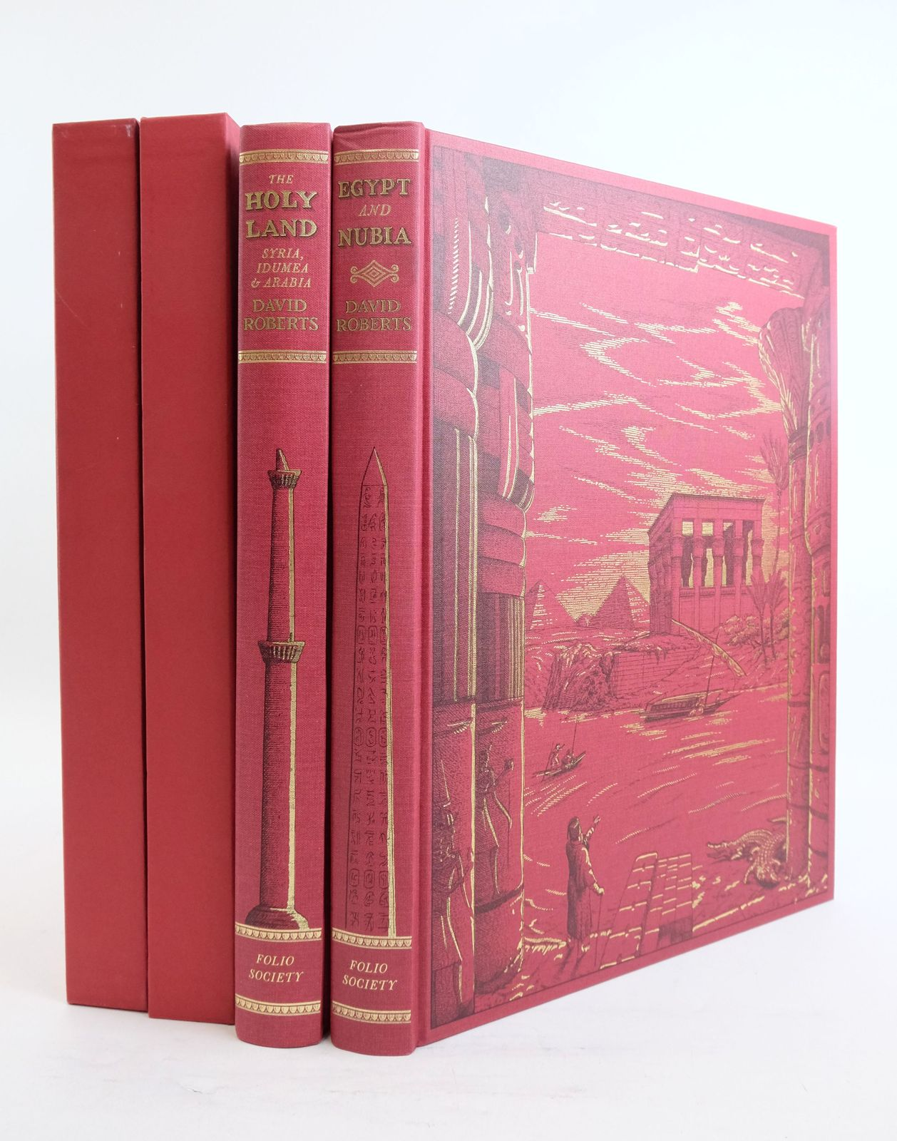 Photo of THE HOLY LAND, SYRIA, IDUMEA & ARABIA AND EGYPT AND NUBIA (2 VOLUMES)- Stock Number: 1821642