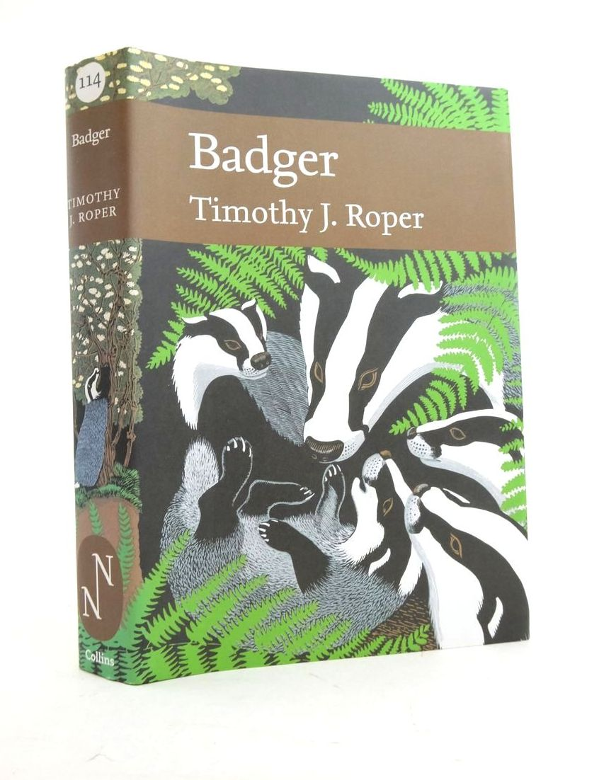 Photo of BADGER (NN 114) written by Roper, Timothy J. published by Collins (STOCK CODE: 1821654)  for sale by Stella & Rose's Books