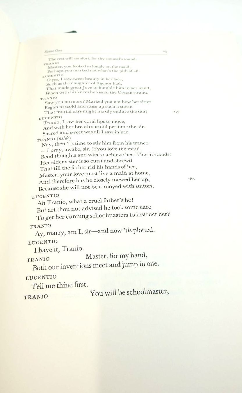 Photo of THE TAMING OF THE SHREW (THE LETTERPRESS SHAKESPEARE) written by Shakespeare, William Oliver, H.J. published by Folio Society (STOCK CODE: 1821706)  for sale by Stella & Rose's Books