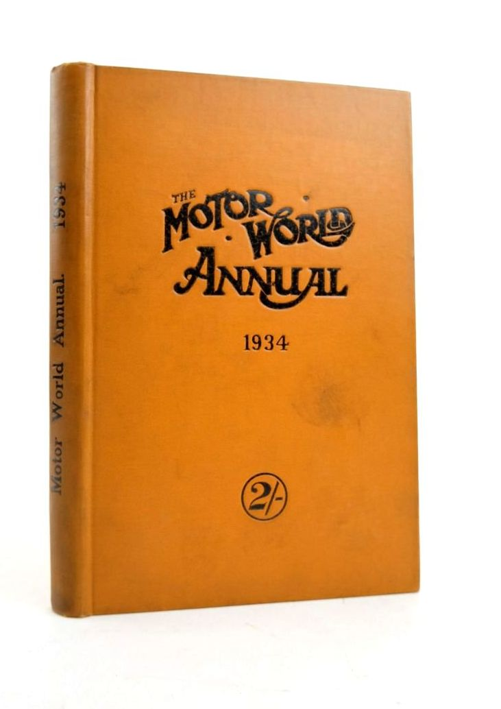 Photo of THE MOTOR WORLD ANNUAL 1934- Stock Number: 1821719