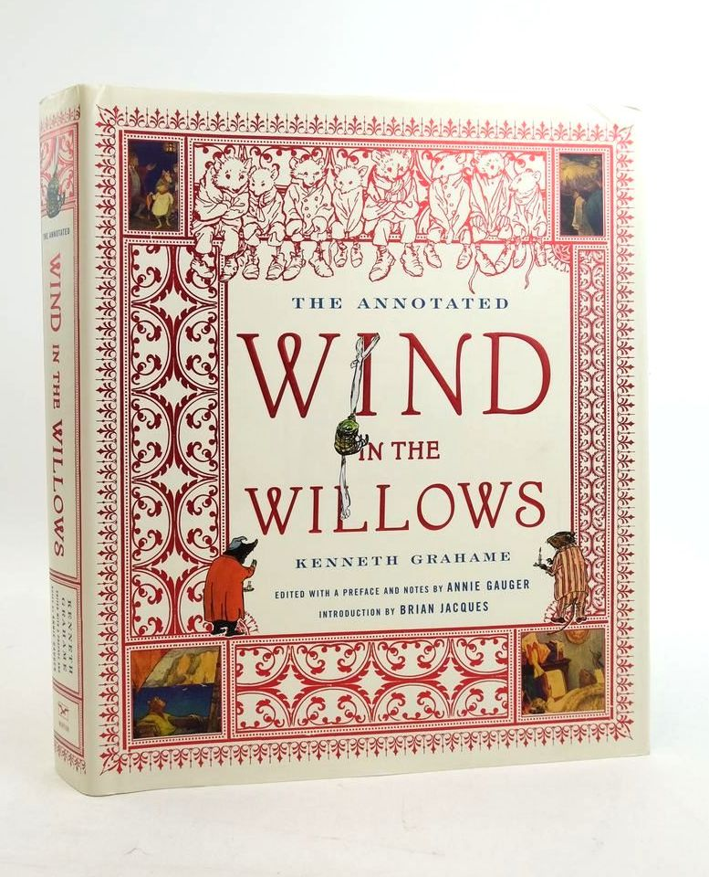 Photo of THE ANNOTATED WIND IN THE WILLOWS written by Grahame, Kenneth Jacques, Brian Gauger, Annie published by W.W. Norton & Company Inc. (STOCK CODE: 1821738)  for sale by Stella & Rose's Books