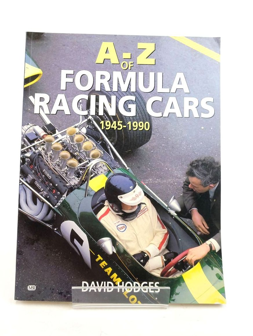 Photo of A-Z OF FORMULA RACING CARS 1945-1990 written by Hodges, David published by Bay View Books (STOCK CODE: 1821757)  for sale by Stella & Rose's Books