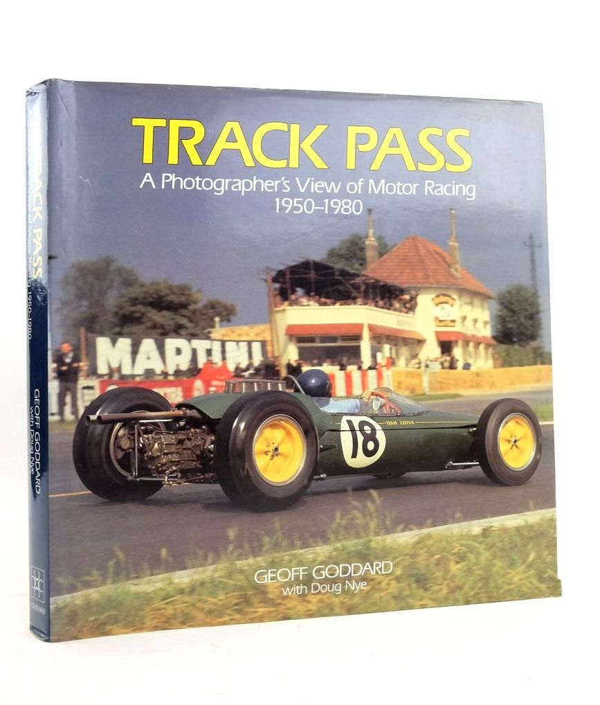 Photo of TRACK PASS: A PHOTOGRAPHER'S VIEW OF MOTOR RACING 1950-1980- Stock Number: 1821759