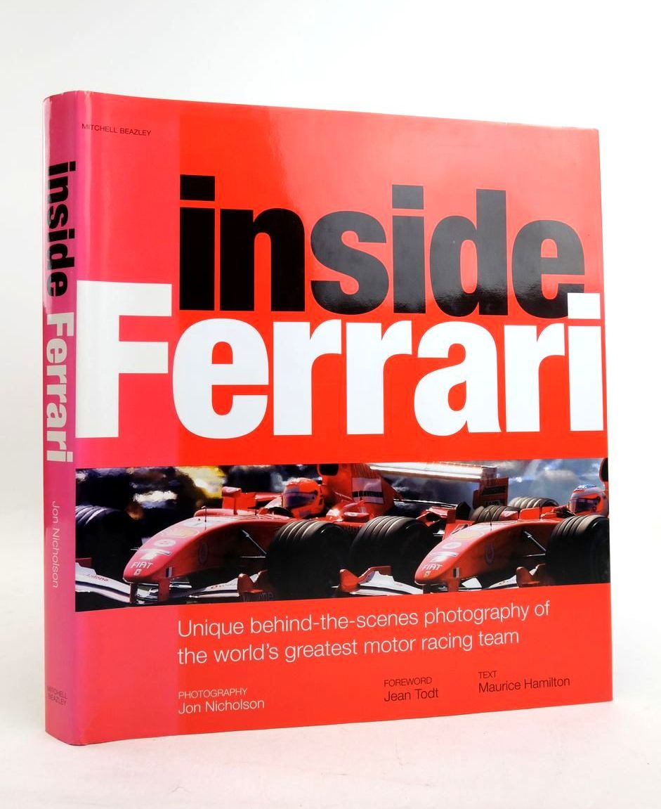 Photo of INSIDE FERRARI written by Hamilton, Maurice published by Mitchell Beazley (STOCK CODE: 1821761)  for sale by Stella & Rose's Books
