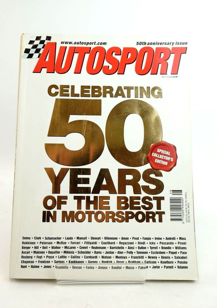 Photo of AUTOSPORT 50TH ANNIVERSARY ISSUE published by Autosport (STOCK CODE: 1821764)  for sale by Stella & Rose's Books