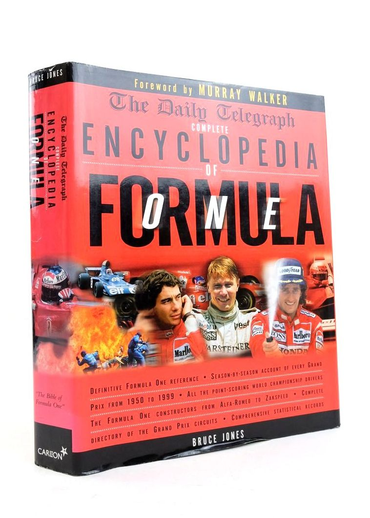 Photo of THE DAILY TELEGRAPH COMPLETE ENCYCLOPEDIA OF FORMULA ONE written by Jones, Bruce published by Carlton Books Limited (STOCK CODE: 1821787)  for sale by Stella & Rose's Books