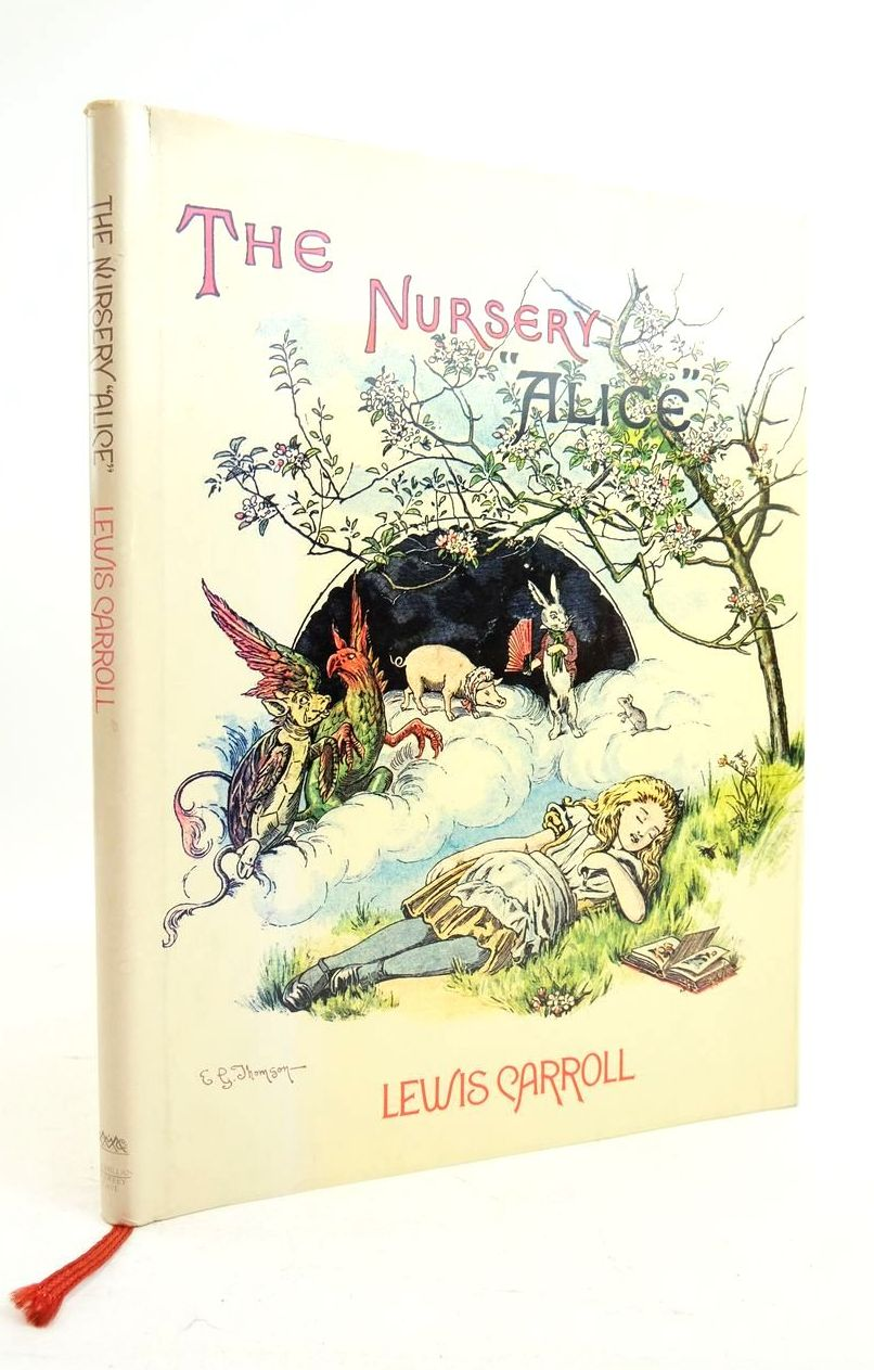 Photo of THE NURSERY ALICE written by Carroll, Lewis illustrated by Tenniel, John Thomson, E. Gertrude published by MacMillan Publishers Ltd., Godfrey Cave (STOCK CODE: 1821812)  for sale by Stella & Rose's Books
