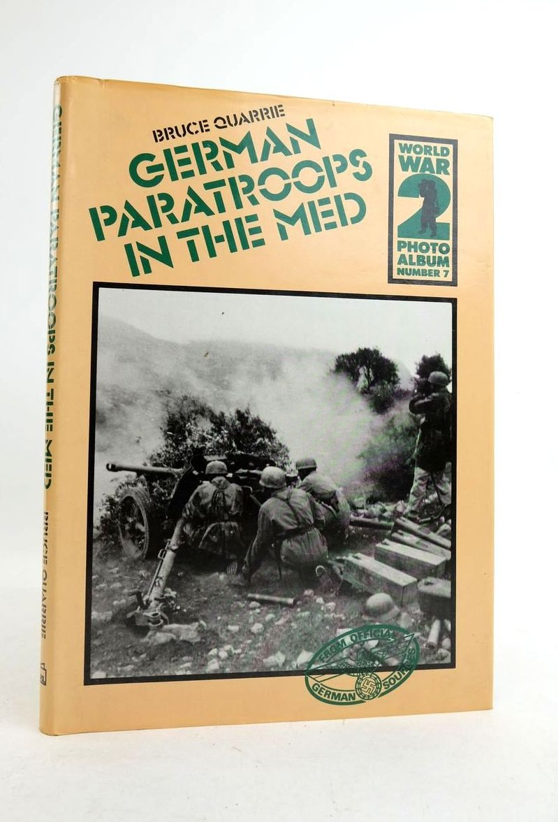 Photo of GERMAN PARATROOPS IN THE MED written by Quarrie, Bruce published by Patrick Stephens (STOCK CODE: 1821837)  for sale by Stella & Rose's Books