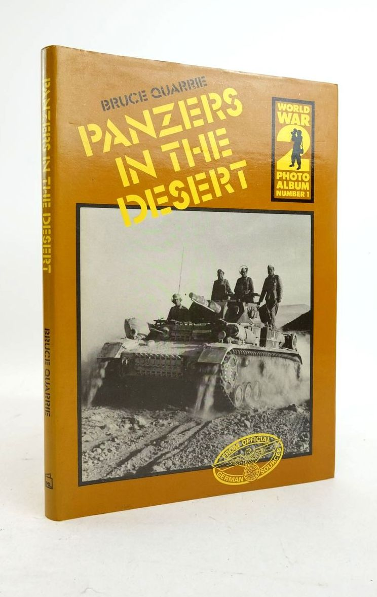 Photo of PANZERS IN THE DESERT written by Quarrie, Bruce published by Patrick Stephens (STOCK CODE: 1821841)  for sale by Stella & Rose's Books