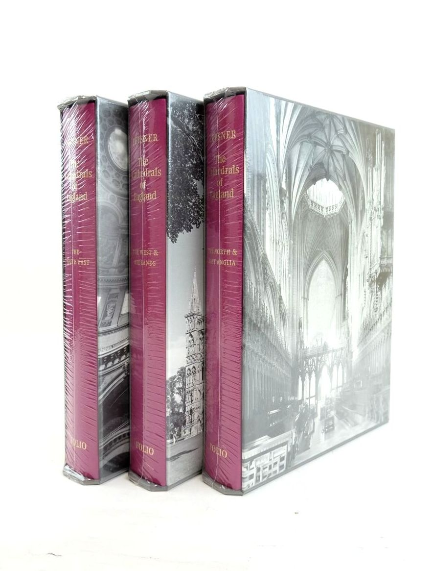 Photo of THE CATHEDRALS OF ENGLAND (3 VOLUMES) written by Pevsner, Nikolaus published by Folio Society (STOCK CODE: 1821847)  for sale by Stella & Rose's Books