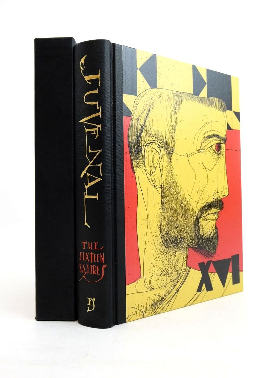 Photo of JUVENAL: THE SIXTEEN SATIRES written by Juvenal, Callow, Simon illustrated by Hughes, David published by Folio Society (STOCK CODE: 1821880)  for sale by Stella & Rose's Books