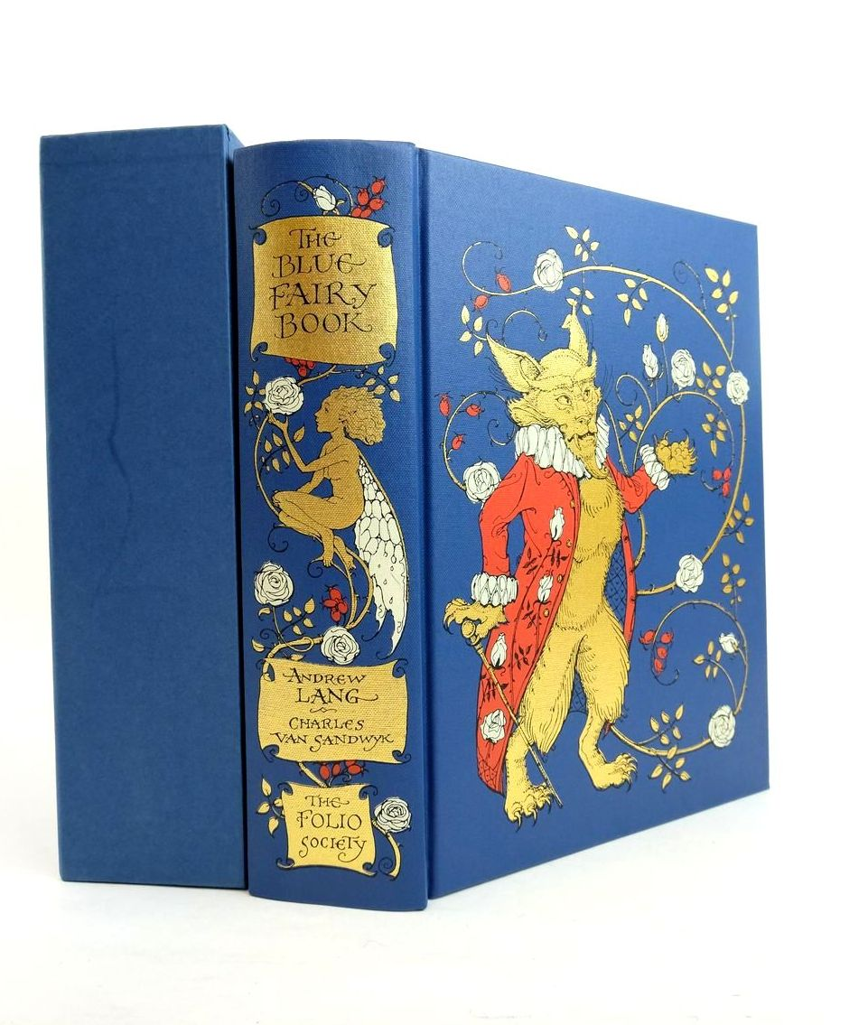 Photo of THE BLUE FAIRY BOOK written by Lang, Andrew Aiken, Joan illustrated by Van Sandwyk, Charles published by Folio Society (STOCK CODE: 1821881)  for sale by Stella & Rose's Books