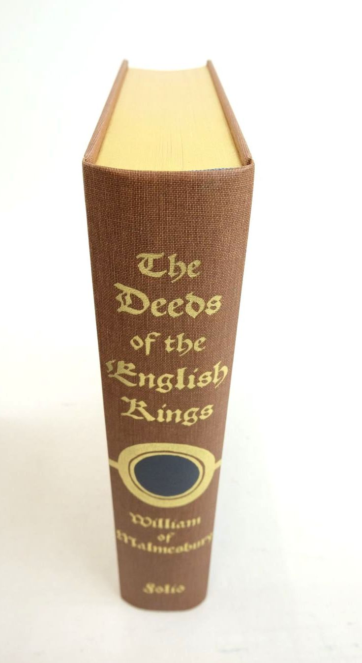 Photo of THE DEEDS OF THE ENGLISH KINGS written by Malmesbury, William Of Ackroyd, Peter published by Folio Society (STOCK CODE: 1821899)  for sale by Stella & Rose's Books