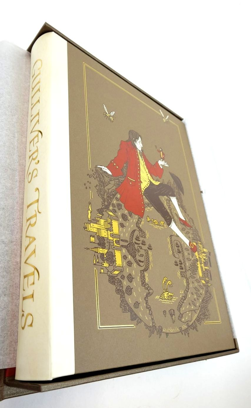 Photo of GULLIVER'S TRAVELS written by Swift, Jonathan illustrated by Suart, Peter published by Folio Society (STOCK CODE: 1821903)  for sale by Stella & Rose's Books