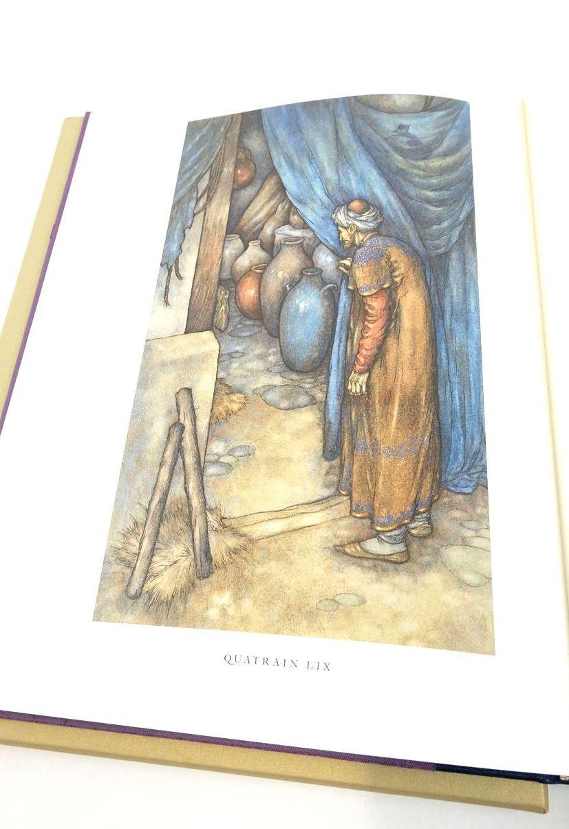 Photo of RUBAIYAT OF OMAR KHAYYAM written by Khayyam, Omar Fitzgerald, Edward Byatt, A.S. illustrated by Puttapipat, Niroot Raw, Stephen published by Folio Society (STOCK CODE: 1821945)  for sale by Stella & Rose's Books